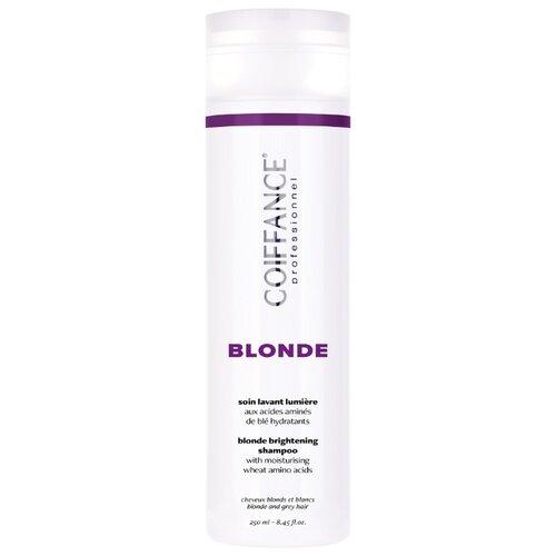 Coiffance Professionnel шампунь Blonde Brightening для для светлых, обесцвеченных и седых воло, 250 мл недорого