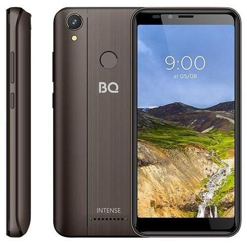 Смартфон BQ 5530L Intense коричневый смартфон