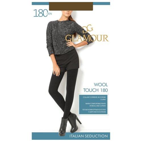 Колготки Glamour Wool Touch 180 den, размер 2-S, chocolate (коричневый) колготки glamour glamour mp002xw125p8