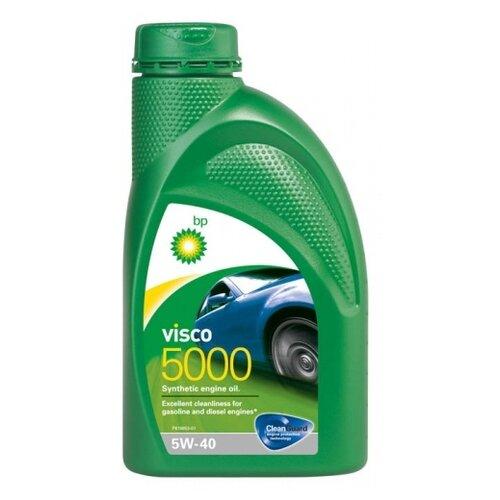 Синтетическое моторное масло BP Visco 5000 5W-40, 1 л