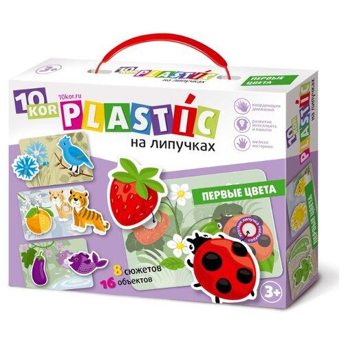Купить Настольная игра Десятое королевство Пластик на липучках Первые цвета, Настольные игры