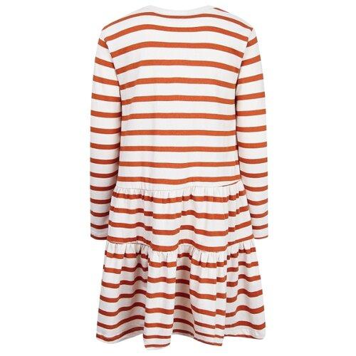 Платье Molo Chia Pumpkin Breton размер 122-128, 6078 pumpkin breton