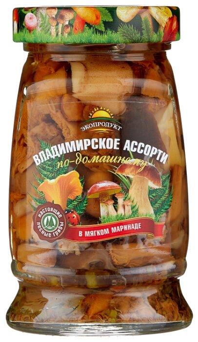 Грибное ассорти Экопродукт маринованное Владимирское