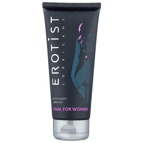Гель-смазка Erotist Anal для женщин на водной основе 100 мл туба возбуждающий интимный гель смазка на водной основе lubrimax stimulate 150 мл
