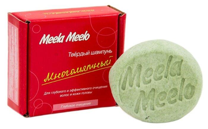 Meela Meelo твердый шампунь Многомятный, 85 гр