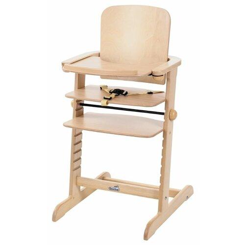 Купить Растущий стульчик Geuther Family натуральный, Стульчики для кормления