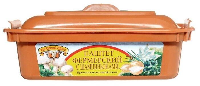 Pate Grand-Mere Паштет фермерский с шампиньонами 150 г