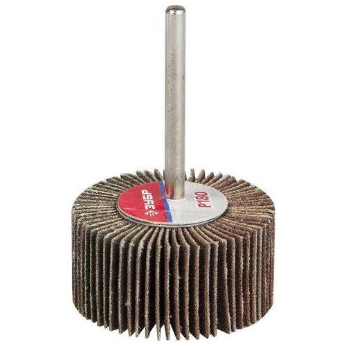 Фото - Лепестковый диск ЗУБР 36601-180 P180 50 мм диск круг лепестковый зубр 125x22mm 36563 125 60