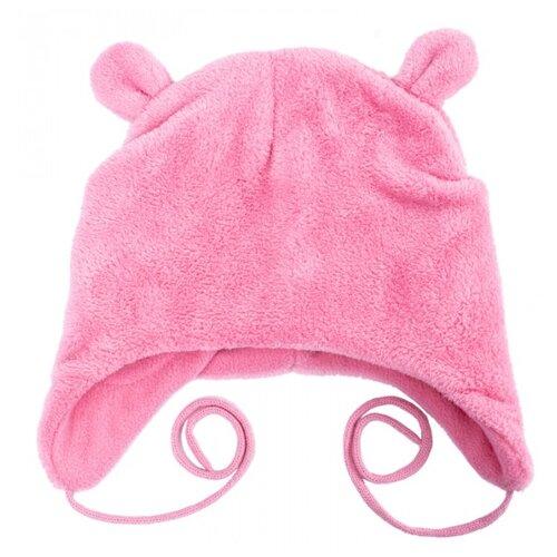 Купить Шапка playToday размер 48, светло-розовый, Головные уборы