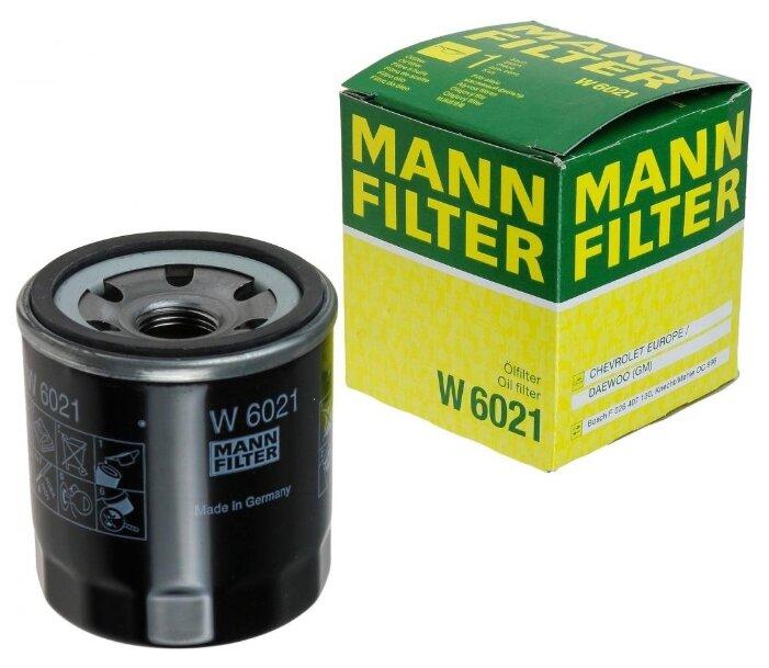 Масляный фильтр MANNFILTER W6021
