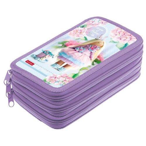 Hatber Пенал Dreams of Princess Tilda (NPn_70114) фиолетовый набор тетрадей hatber классика 12т5в2