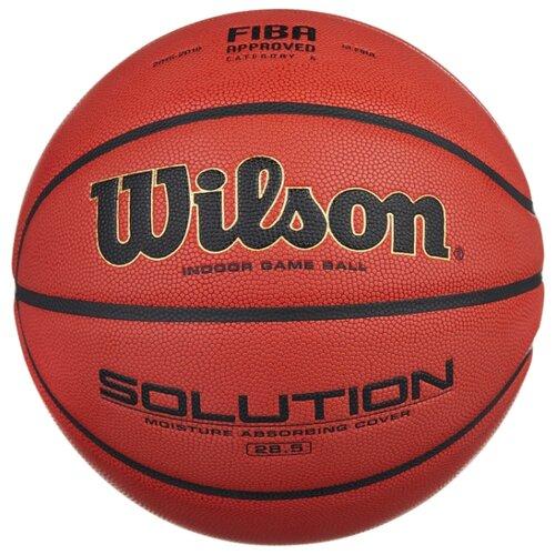 цена на Баскетбольный мяч Wilson Solution B0686X, р. 6 коричневый