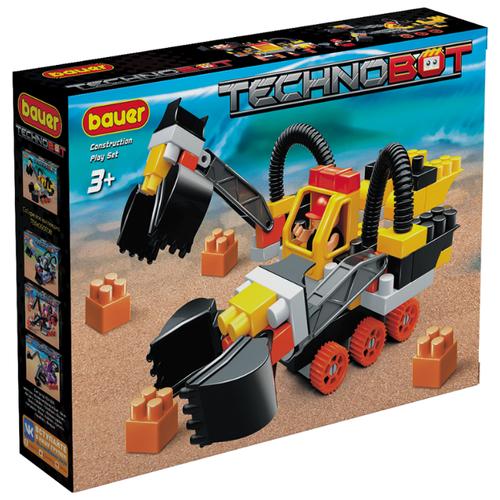 Конструктор Bauer Technobot 795 Набор с роботом и пилотом конструктор bauer technobot 801