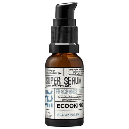 Ecooking Super Serum сыворотка для лица, шеи и области декольте, 20 мл academie white derm acte brightening hydrating first care serum осветляющая увлажняющая пре сыворотка для лица шеи и области декольте 200 мл