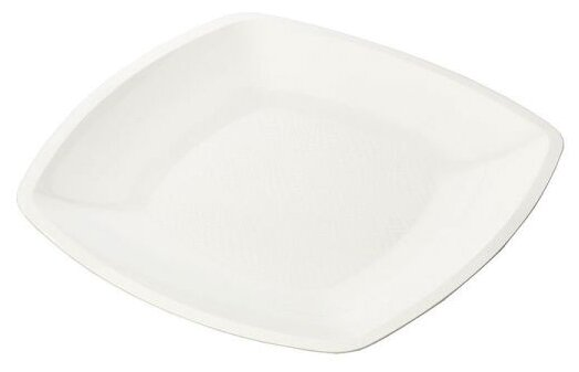 Мистерия тарелка одноразовая квадратная 18 см (6 шт.)