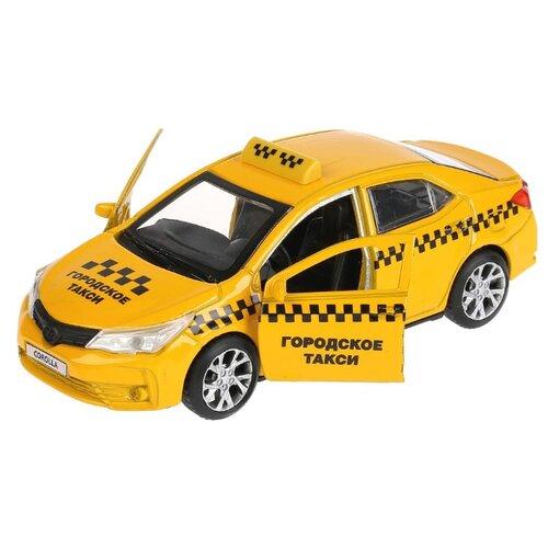 Купить Легковой автомобиль ТЕХНОПАРК Toyota Corolla (COROLLA-T) 12 см желтый, Машинки и техника