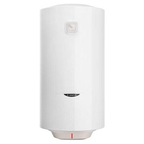 Накопительный электрический водонагреватель Ariston DUNE1 R 80 V 1,5K SLIM PL, белый/бежевый
