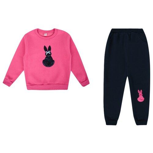 Купить Комплект одежды Fun time размер 98, фуксия/синий, Комплекты и форма