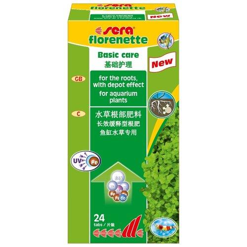 Sera Florenette удобрение для растений, 24 шт.