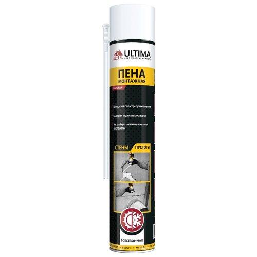 Монтажная пена Ultima UDFUF00003 700 мл всесезонная плита потолочная armstrong ultima vector 600х600х19 мм