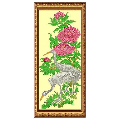Светлица Набор для вышивания бисером Птицы 19,1 х 42,7 см (047)