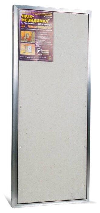 Ревизионный люк Евроформат ЕТР 50-120 настенный под плитку ПРАКТИКА