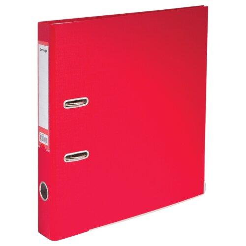 Купить Berlingo Папка-регистратор с арочным механизмом Mega Top A4, 50 мм, бумвинил красный, Файлы и папки
