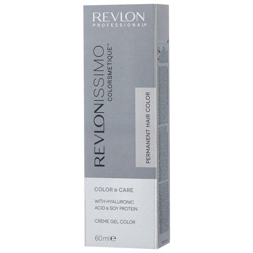 Revlon Professional Revlonissimo Colorsmetique стойкая краска для волос, 60 мл, 6.4 темный блондин медный revlon professional официальный сайт краска для волос