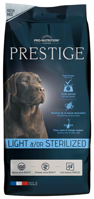 Корм для собак Flatazor Prestige Light/Sterilise (15 кг)