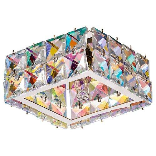 Фото - Светильник встраиваемый Novotech Neviera, 100x100 мм, G9, 220 В, 40 Вт (цветной хрусталь) встраиваемый светильник novotech neviera 142 370168