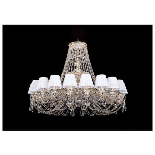 Люстра Bohemia Ivele Crystal 1771 1771/20/410/C/GW/SH13-160, E14, 800 Вт настольная лампа bohemia ivele 7003 1 33 gw sh2 160