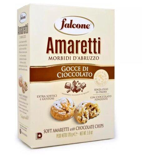Печенье FALCONE Amaretti с шоколадом, 170 г