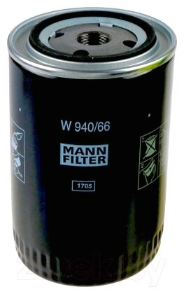 Масляный фильтр MANNFILTER W940/66