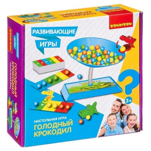 Купить Настольная игра BONDIBON Голодный крокодил ВВ4176, Настольные игры