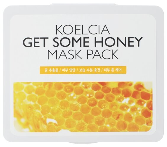 KOELCIA тканевая маска Get Some Mask Pack с экстрактом мёда