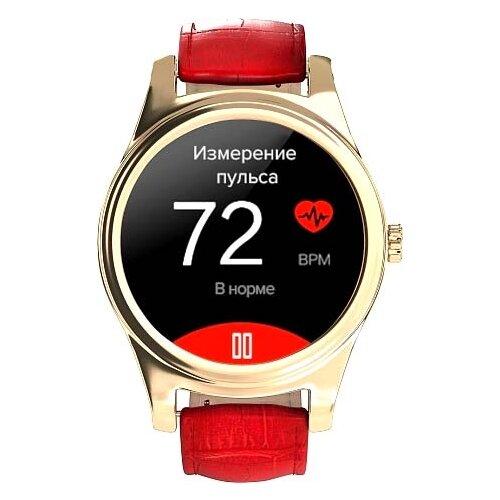 Часы GSMIN WP5 (crocodile leather) красный
