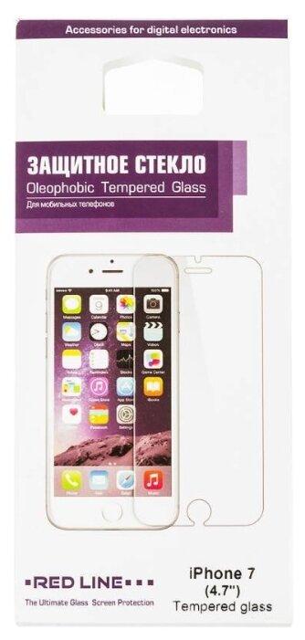 Защитное стекло Red Line для Apple iPhone 7 прозрачный фото 1