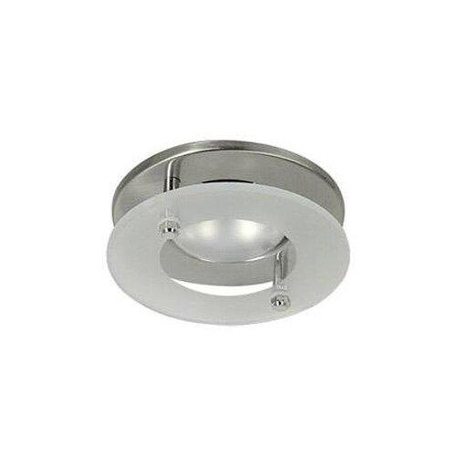 Встраиваемый светильник Акцент WL-272+G, матовый хром светильник встраиваемый акцент wl 670 хром