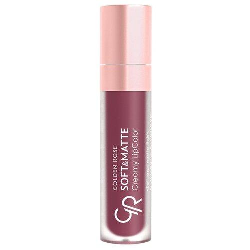 Golden Rose жидкая помада для губ Soft Matte Creamy Lipcolor, оттенок 116