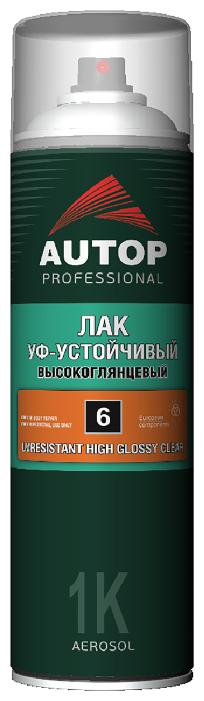 Аэрозольный автомобильный лак Autop №6 UV Resistant High Glossy Clear Coat