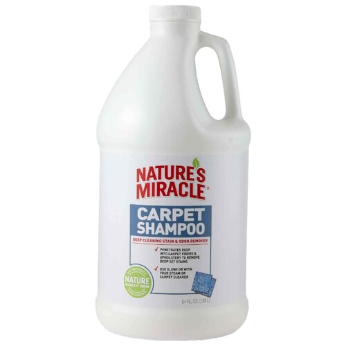 Моющее средство Nature's Miracle Nature's Miracle Carpet Shampoo для ковров и мягкой мебели с нейтрализаторами аллергенов 1,9 л