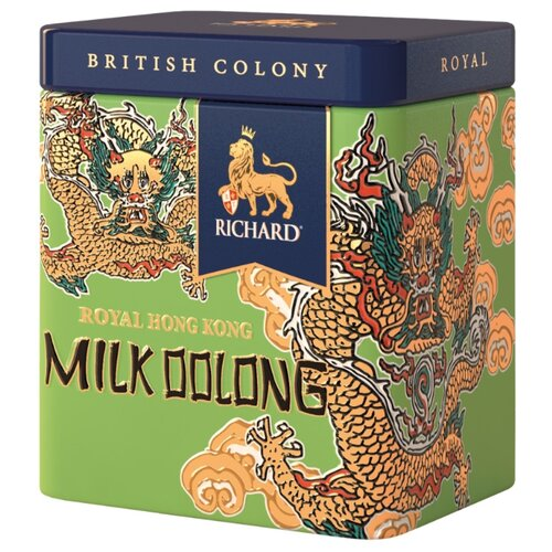 Чай улун Richard British colony Royal milk oolong подарочный набор, 50 г недорого