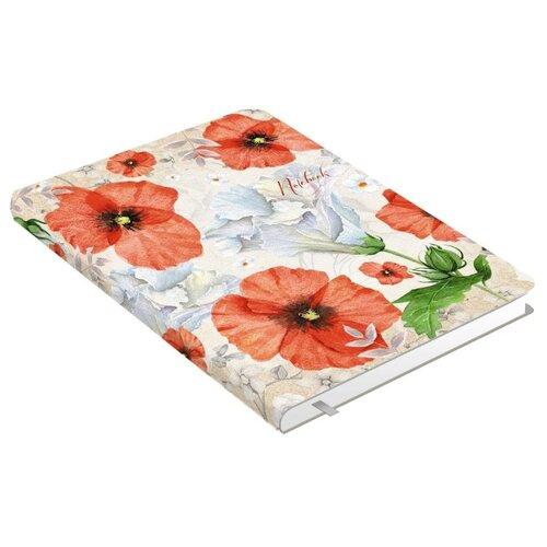 Купить Блокнот Канц-Эксмо Aquarelle. Маки А6+, 80 листов (КЗАК6802927), Блокноты