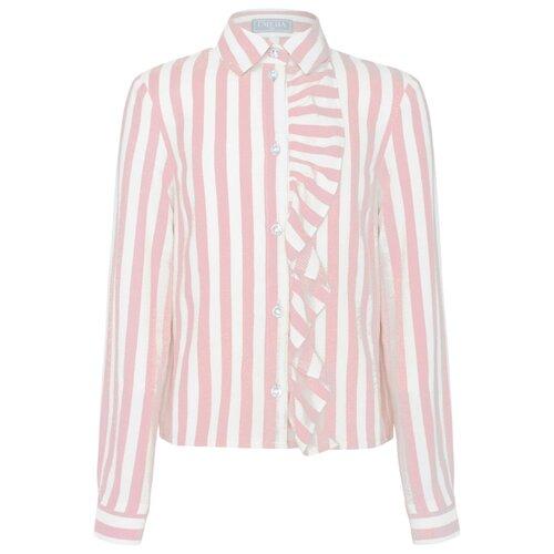 Блузка Смена размер 128/64, светло-розовый