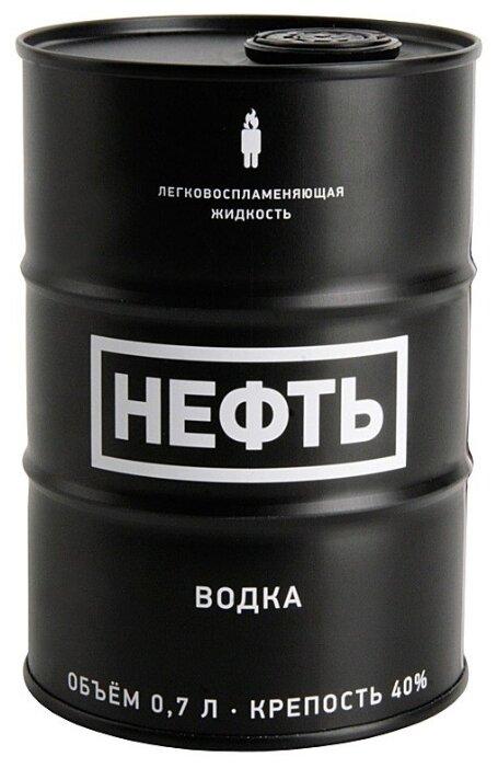 Водка Neft Black Barrel, 0.7 л