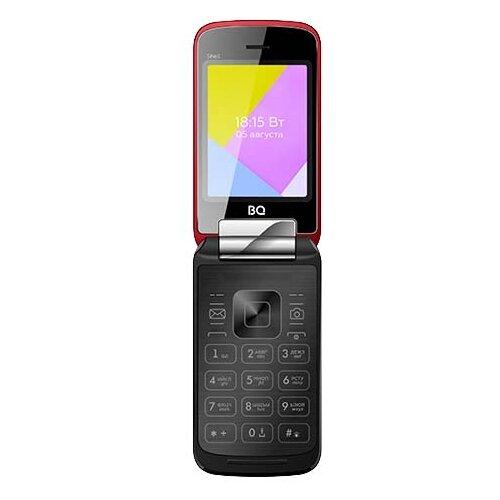 Телефон BQ 2816 Shell красный телефон