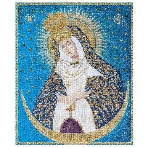 Thea Gouverneur Набор для вышивания Остробрамская икона Божией Матери, 25 X 30 см, (530А) набор для вышивания thea gouverneur 0753a набор для вышивания