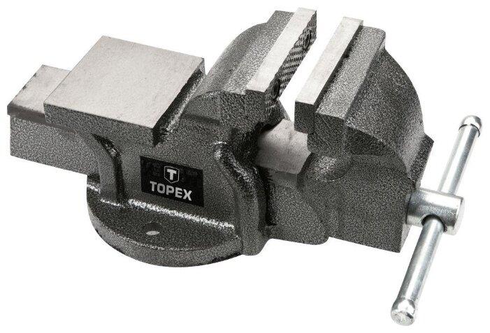 Тиски TOPEX 07A112 125 мм — купить по выгодной цене на Яндекс.Маркете