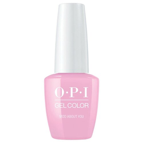 Гель-лак для ногтей OPI Classics GelColor, 15 мл, оттенок Mod About You лак opi nail lacquer classics 15 мл оттенок she's a bad muffuletta