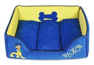 Лежак для кошек, для собак Triol Pluto-1 48х38х15 см